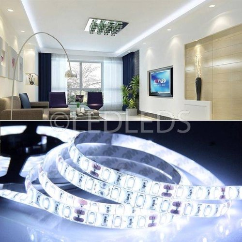Bande de 300 LED 5630 5 m 12 V, lumière blanc froid IP65