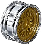 TAMIYA 300050548 - Felgen Porsche Taisan, 26 mm, 2 Stück, chrom/gold
