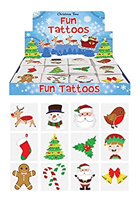 Henbrandt Christmas Party Tattoos : everything £5 (or less!)