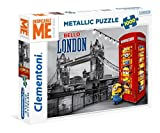 Clementoni Spa - Puzzle metã¡lico minions
