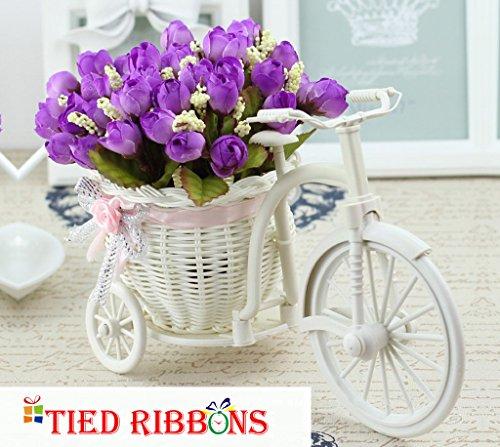 TiedRibbons Flower Vase (Violet)