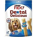 FIDO - Dental Delicious - Chiens Moyens 10-25kg - Lot de 6 x 200g