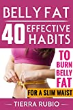 BELLY FAT: 40 EFFECTIVE HABITS to BURN BELLY FAT for A SLIM WAIST (Belly Fat, Fat Burning For Women, Weight Loss, Zero Belly Diet, Flat Belly Diet, Abs Diet, Waist Training Workout) (FIT BODY Book 1)