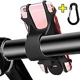 Fahrrad Handyhalterung rutschfestes Silikon – Comway Universal Telefonhalterung Passend für alle Fahrradgriffe, Sekunden für Installieren und Entfernen, Sicher & Flexibel