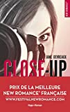 close up tome 1 indomptable sandre prix de la meilleure new romance fran?aise