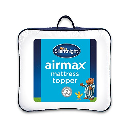 Silentnight Airmax Mattress Topper, White, Double 2