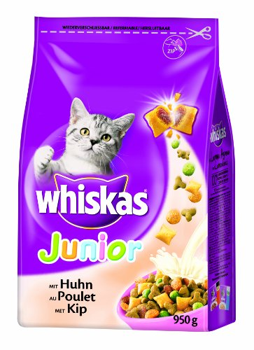 Whiskas - Junior con Pollo 1 Sacchetto 950,00 gr