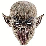 KEKE Máscara de Halloween Máscara de Terror Sangriento Zombi Adulto...