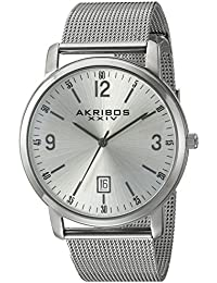 Akribos XXIV Reloj de cuarzo Man AK858SS 42 mm