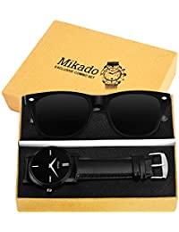 Mikado Exclusive Combo Set Of Watch And Sun-glass For Men's And Boy's