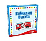 Noris 608985663 - Fahrzeuge Puzzle, Reise- und Mitbringspiel