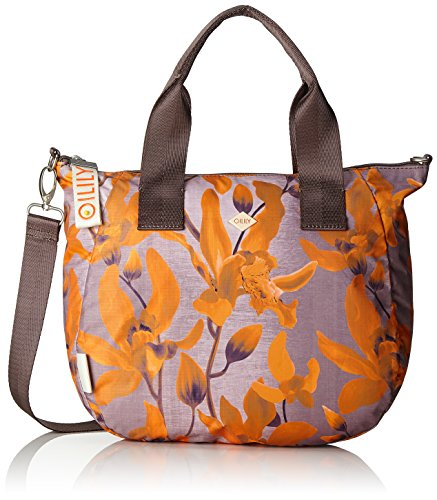 Oilily Damen Groovy Handbag Mhz Henkeltasche, 15 x 25 x 40 cm Orange (Orange)