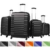 Lot de 4 valises rigides Trolley