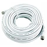 SAT-Kabel, 15m, weiß, F-Stecker > F-Stecker