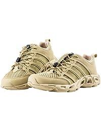 FREE SOLDIER Hombre Water Shoes Ultra Ligero Transpirable de Secado Rápido Tactical Camping Senderismo Zapatos,Sand Color,EU41