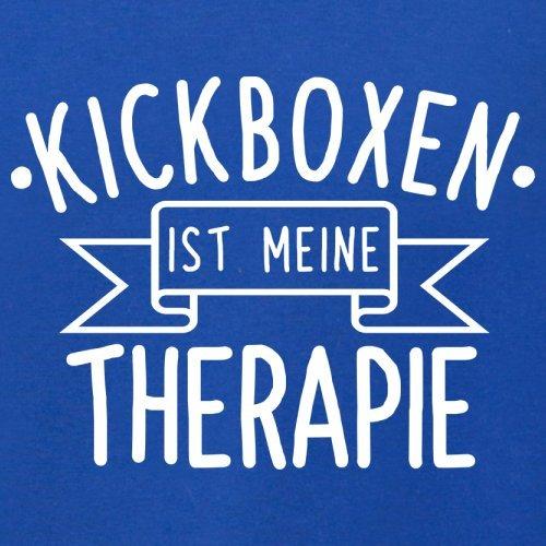 Kickboxen ist meine Therapie - Herren T-Shirt - 13 Farben Royalblau