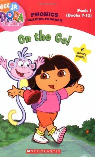 Dora the Explorer Phonics Reading Program Pack 1 (Books 7-12): On the Go! (Dora the Explorer (Scholastic)) by Quinlan B. Lee (2007-02-05)