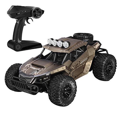 BlueFire Remote Control Car, 1:16 2.4GHz Electric Offroad RC Cars Monster Truck High Speed Buggy Vehicle with 2 Rechargeable Battery for Kids