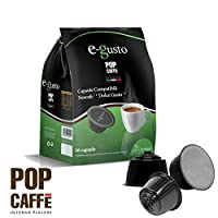 160 Capsules Pop 'Coffee e-gusto Mixture 2 Creamy Compatible Nescafe Dolce Gusto
