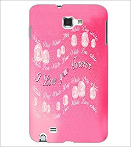 PrintDhaba Quote D-5524 Back Case Cover for SAMSUNG GALAXY NOTE 1 (Multi-Coloured)
