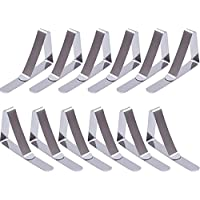 WINOMO Tablecloth Clips Table Cover Clamps Holder 4.5cm Pack of 4