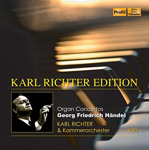 Händel: Orgelkonzerte