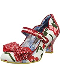Fancy This, Mary Janes Femme, Noir (Noir/Rouge), 43 EUIrregular Choice