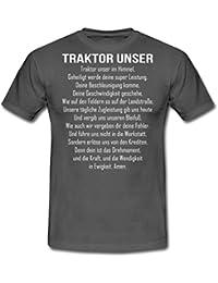 Traktor Unser Witziger Spruch Bauer Männer T-Shirt von Spreadshirt®