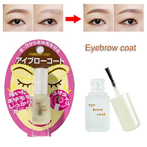 Fishyu Eyebrow Sealer Coat Waterproof Liquid Long Lasting Brow Enhancement Makeup Tool