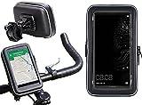Navitech Wasserfeste Fahrrad und Motorrad Halterung Montierung und Case für das Huawei Mate 10 Pro
