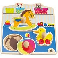 Hape - Puzzle con juguetes (0HPE1301) - Peluches y Puzzles precios baratos