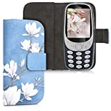 kwmobile Wallet Case for Nokia 3310 3G 2017 / 4G 2018 - [PU