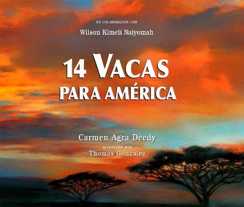 14 Vacas Para América por Carmen Agra Deedy