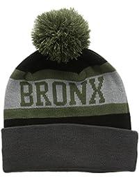 A NEW ERA Bronx Bobble-Gorro de Punto Hombre,