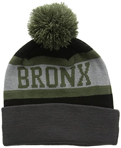 New Era New Era Bronx Bobble-Cuffia Uomo,    nero taglia unica