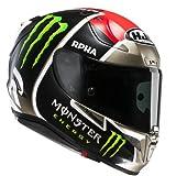 HJC Casque Moto RPHA 11 Jonas Folger, Noir/Rouge, Taille L