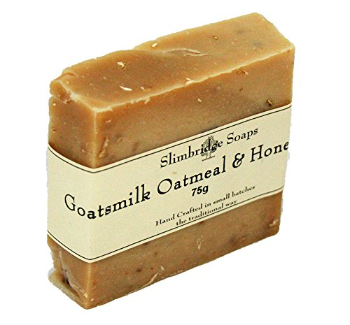 Goatsmilk Oatmeal & Honey Soap -Eczema/ Psoriasis/ Itchy Skin Rash~75g Bar