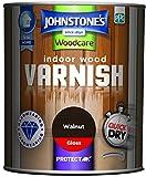 Best Indoor Paints - Johnstone's 309297 750ml Woodcare Indoor Wood Varnish Gloss Review