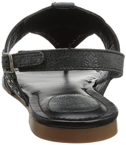 Ariat Quartz Fisherman Sandal Black Crinkle