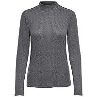 ONLY Blouses For Women, Grey Melange M