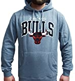 Mitchell & Ness NBA Chicago Bulls Team Arch Hoody Hoodie Sweater Herren Mens