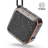 Cassa Bluetooth Portatile, MIROCOO TWS Cassa Bluetooth Waterproof IPX7, Altoparlante Speaker Bluetooth Portatili 5.0, 12 ore di Riproduzione e Mic Incorporato, Supporto TF Card, Aux-In e Radio FM