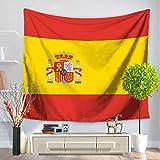 Izielad Bandera de España Tapiz Colgante de Pared