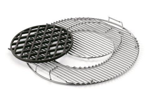 Weber 7420 Gourmet BBQ System - Sear Grate Set inklusiv Grillrost -