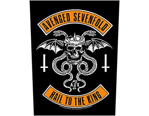 Avenged Sevenfold - Biker - Grande Toppa/Patch