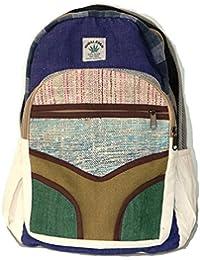 Mochila de fibra de cáñamo / Mochila de cáñamo / Daypack para la escuela, viajes, vacaciones, ocio, al aire libre,…