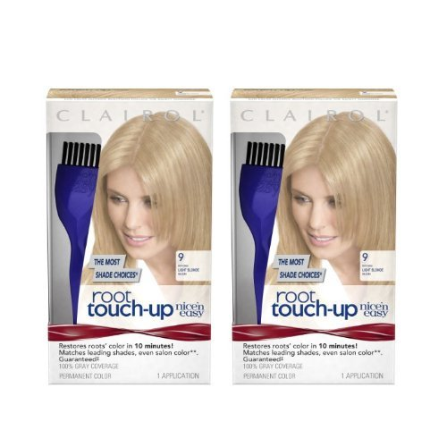 Clairol Nice 'n Easy Root Touch-Up 9 Matches Light Blonde Shades 1 Kit by Clairol - Clairol Touch-up