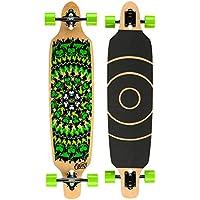 Osprey, Longboard Twin Tip, Verde (flameskull) - Longboard Rotolo