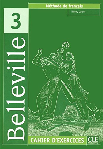 Belleville 3 - Cahier d'exercices + CD audio