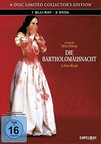 Bild von Die Bartholomäusnacht (Restaurierte Fassung) [Blu-ray] im limitierten 4-Disc Mediabook (1 Blu-ray + 3 DVDs)